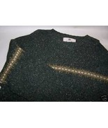 Green Med M Long Sleeve Men's Wool Maurices Sweater - $4.00