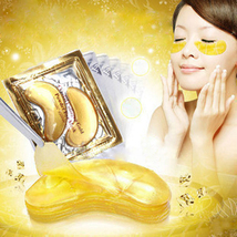20pcs=10packs 2017 Gold Crystal Collagen Eye Mask Hotsale Eye Patches For The Ey - $8.00