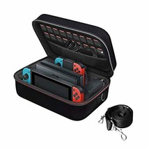 Nintendo Switch Game Traveler Deluxe Storage Case,iVoler Portable Ninten... - $45.38