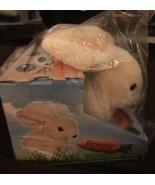 Hoppy The Bunny Hops Moves Ears & Nose New - $14.99