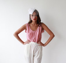 Pink pleated Blouse - $58.00