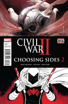 CIVIL WAR II CHOOSING SIDES #2 reg cover EST REL DATE 07/13/2016 - $3.99