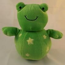 "Koala Baby Frog Green Chime Plush Roly 9"" Stuffed Animal toy - $7.95"