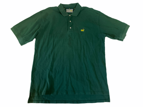 Masters Golf Tournament Augusta National Polo Shirt Men Sz XL Green Izod