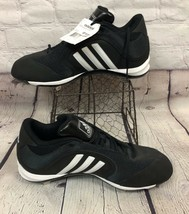 Adidas Cleats Baseball Shoes Excelsior 6 Mid Black White SAMPLE Men's Size 12.5 - $55.43