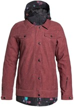 New Women's DC Downtown Snowboard Jacket - Size: Medium - Red - - $118.76