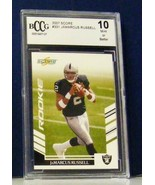 2007 JAMARCUS RUSSELL MINT 10 GRADED ROOKIE #331 CARD - $19.99