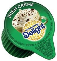 International Delight, Irish Creme, Single-Serve Coffee Creamers, 288 Co... - $36.04
