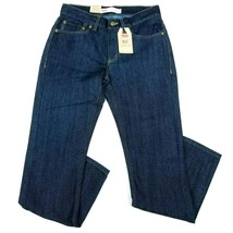 Levis 511 Slim Jeans Boys Blue 16 Regular 5-Pocket Dark Wash 28 x 28 NEW - $11.87