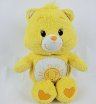 "Care Bears Funshine Bear 13"" Plush Yellow Sunshine Tummy Stuffed Animal Toy - $20.56"