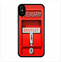 PERSONALIZED RUBBER CASE FOR iPHONE XR XS MAX X 8 7 6 PLUS FIRE ALARM MA... - $13.98
