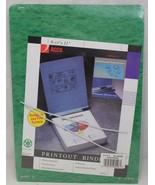 "Acco Printout Binder 9-1/2x11 Dark Green 26026 w/Hangers 6"" Capacity - $10.99"