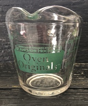Vintage Anchor Hocking Oven Originals 1 Cup Measuring Cup w/ Green Graphics - $13.29