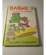 Dr. Seuss~ Babar Loses His Crown~ Beginner Books 1967 - $4.46