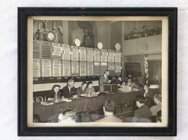 Vtg National Association Professional Baseball League Meeting Photo Picture - $49.49