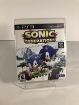 Sonic Generations (Sony PlayStation 3 PS3) Complete Fast Shipping With Manual - $13.39