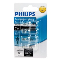 Philips 416957 Landscape Lighting 7-Watt T5 12-Volt Wedge Base Light Bul... - $150,17 MXN