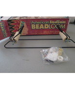 American Indian Bead Loom For ages 9 and over with deluxe metal construc... - $9.89
