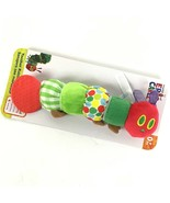 Very Hungry Caterpillar  Eric Carle Infant Baby Teether Rattle Crinkle C1-2 - $12.64