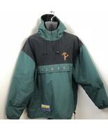 Tigger Bomber Jacket Coat Walt Disney XL Winnie Pooh Green Black Windbre... - $64.35