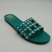 Vince Camuto Womens Ellanna Cozumel Slide Sandals Turquoise Sz 6.5W NEW - $32.66