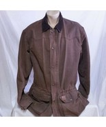 VTG Carhartt Chestnut Barn Coat Blanket Lined Duster Duck Jacket Field X... - $79.99