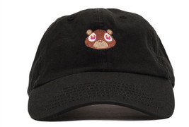 Kanye West Dropout Bear Dad Hat Embroidered Drake Baseball cap Yeezus - $11.99