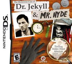 The Mysterious Case of Dr Jekyll & Mr Hyde - Nintendo DS [Nintendo DS] - $7.54