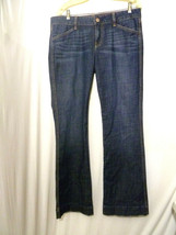 GAP Women's Jeans 1969 Sexy Boot  Flap Snap Pockets 30 / 10 35 X 34 (bf) - $14.24