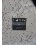 "Ralph Lauren Winter Trees/Red Berries on Gray Tablecloth 104"" Oblong - $38.00"