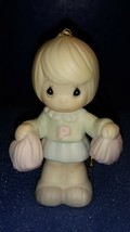 1988 Precious Moments Ornament # 113999 Cheers To The LEADER--NEW Condition. - $12.38