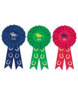 Derby Day Horse Race Kentucky Sports Racing Theme Party Favor Award Ribbons - $11.17