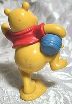 "WINNIE THE POOH BEAR 3"" Cake Topper Figure PVC Plastic Toy Disney Honey Pot image 7"