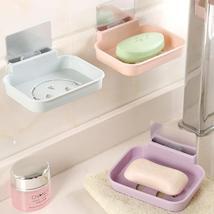 Honana BX-084 Bathroom Soap Dish Sink Sponge Holder Candy Color Magic St... - $12.54