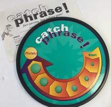 Catch Phrase Original Fast Passing Talking Board Game Instructions Parts... - $14.50