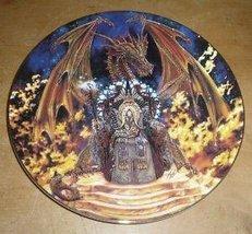 Royal Doulton DRAGONFIRE Fine Bone China Collector Plate  - $29.99