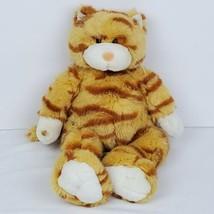 "Build A Bear Tabby Cat Stuffed Plush Animal 17"" With Sound Orange Kitty ... - $24.99"