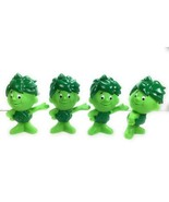 4 Vintage Green Giant Sprout 2011 General Mills Advertising Promotion Toy - $12.22
