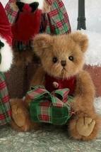 "Bearington Bears ""Harrison Holiday"" 10"" Plush Bear- #173124-  New- 2010 - $29.99"