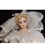 Dynasty Bride Doll 1995 Porcelain Annual Doll Sculpted by Bonj Koj Lee i... - $21.99