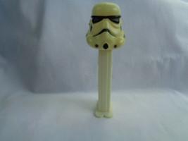 Vintage 1990's PEZ Candy Dispenser Star Wars Storm Trooper Lucas Film with Feet - $1.49