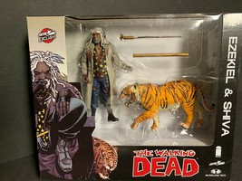 Walking Dead Ezekiel & Shiva Bloody Variant All Out War 2017 Skybound Exclusive - $28.45