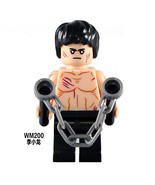 1pcs Fit Lego WM200 Bruce Lee Custom Made Shang-Chi Maitre de Kung Fu de... - $5.81