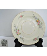 Homer Laughlin Pink & Yellow Roses Vintage 1952 Bread & Butter Plate - $9.27