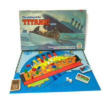 Vintage 1976 Sinking Of The Titanic Ideal Family Board Game Disaster No.... - $46.36