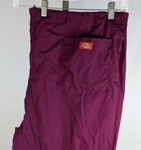 "Dickies Mens Purple Scrubs Pants Size 4XL Inseam 29"" - $13.85"