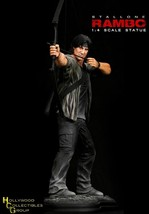 RAMBO IV Sylvester Stallone 1/4 Scale Statue Hollywood Collectibles Group - $483.57