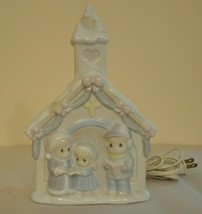 1993 Precious Moments Church Night Light - $14.85