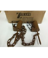 2  Z Trap Dead Grass (Pull Only) DP Dog Proof Coon Trap Trapping Raccoon - $24.22