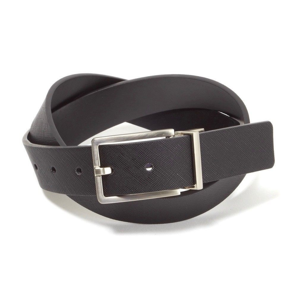 Calvin Klein Men's Premium Reversible 32mm Genuine Leather Belt Black 7539096